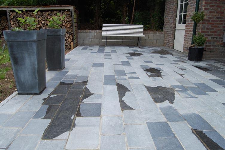 Het klusbedrijf van zuid limburg tuinmeubilair en tegels - Buiten terras model ...